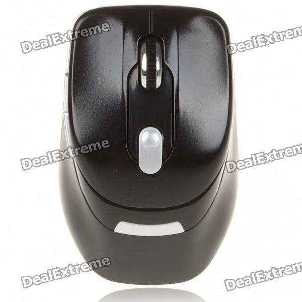 2.4GHz 500/1000DPI Wireless Optical Mouse w/ USB 2.0 Receiver - Black (1 x AAA) 2 4ghz wireless 500 1000dpi usb 2 0 optical mouse w receiver white 2 x aaa