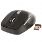 2.4GHz 500/1000DPI Wireless Optical Mouse w/ USB 2.0 Receiver - Black (1 x AAA)