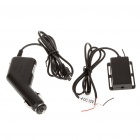"1/3"" CMOS Car Rearview Camera w/ 7-LED Night Vision + 3.5"" TFT LCD Wireless Monitor (NTSC/PAL)"