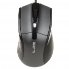 Sunsonny PS2 Wired Gaming 600/1000 / 1600DPI Optical Mouse - Schwarz (130CM-Cable)