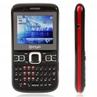 "2.0"" LCD Dual Camera Quad SIM Quad Network Standby Quadband GSM TV Cell Phone - Black"