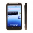 "Hero 4.3"" Capacitive Android 2.2 Dual SIM Quadband GSM TV Cell Phone w/ WiFi/A-GPS - Black"