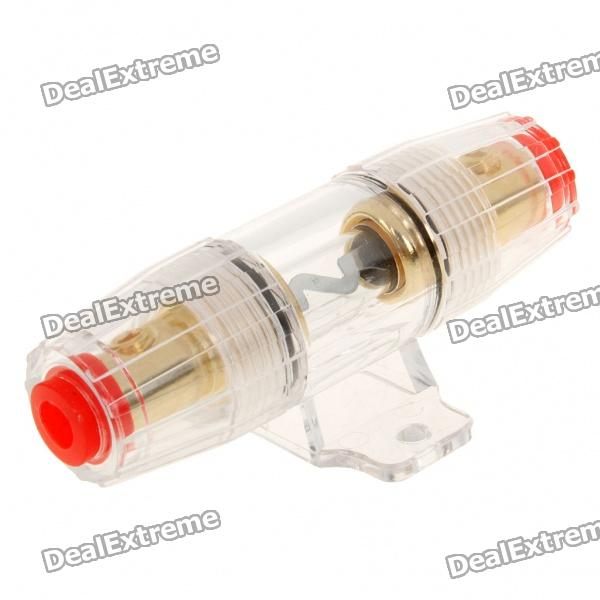Car Power Fuse for Car Audio System - Golden + Red