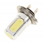 H7B 6W 4-SMD LED 6500K 85-Lumen White Fog Light for Car (DC 12V)