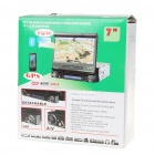 "7.0"" Touch Screen Single DIN Car DVD Player + WinCE 5.0 GPS Navigator w/ FM/Bluetooth/USB/SD"