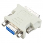 DVI 24+5 to VGA Adapter Dongle (M to F)