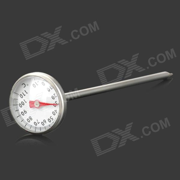Bimetalic Spring Barbeque Grill Thermometer Stick