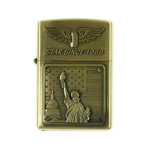 American-Spirit Metal Oil Lighter