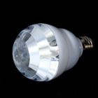 E27 3W 3-LED Multi-Color Energy Saving Light Bulb (110V)