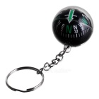 Crystal Ball Compass Keychain