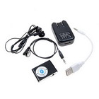 Bluetooth 2.0 A2DP AVRCP Stereo Music Receiver and Handsfree (Black)