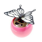 Solar Powered Flapping Butterfly (White)