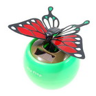 Solar Powered Flapping Butterfly (Red)