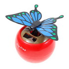 Solar Powered Flapping Butterfly (Blue)