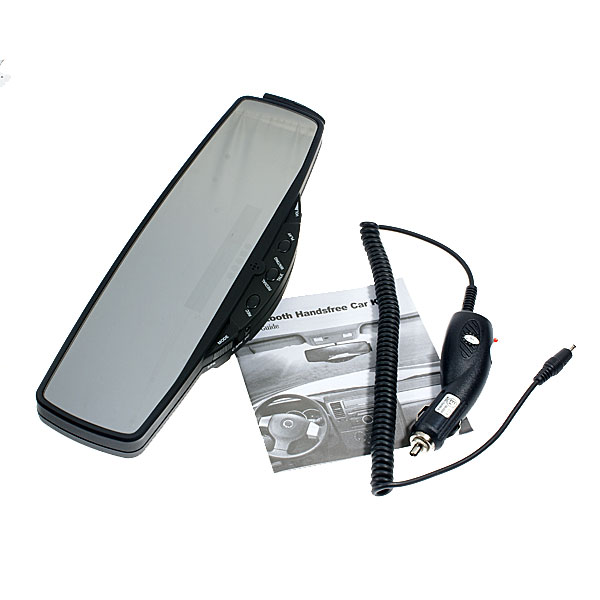 Buy Rearview Mirror Bluetooth Handsfree Car Kit with ...