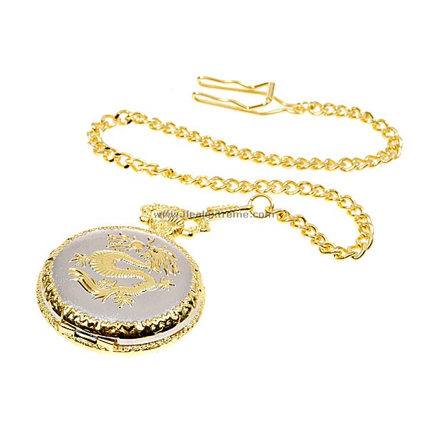 Golden Chain Pocket Watch