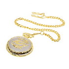 Golden Chain Pocket Quartz Watch