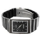 Silver/Black Men's Quartz Watch