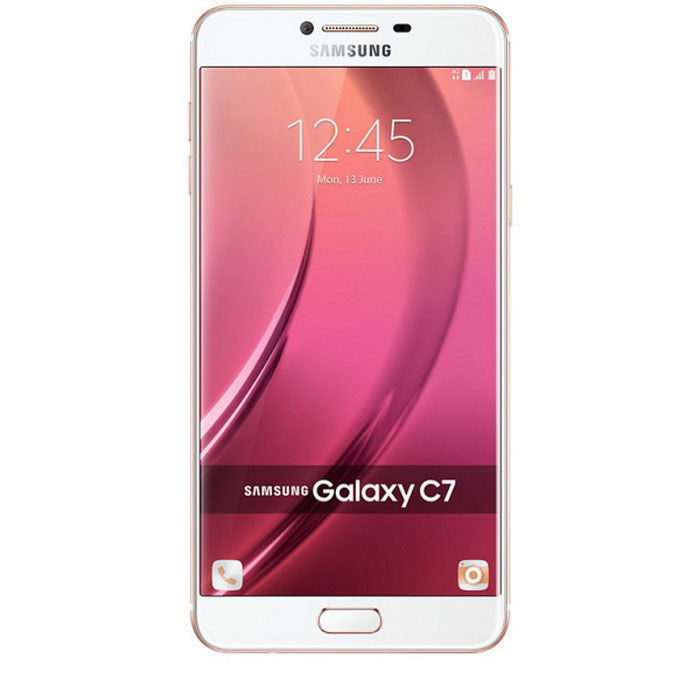 Samsung C7 SM-C7000 64GB ROM Dual SIM - Pink GoldAndroid Phones<br>Form  ColorPinkgold + WhiteRAM4GBROM64GBBrandSamsungModelSM-C7000Quantity1 setMaterialMetal + GlassShade Of ColorPinkTypeBrand NewPower AdapterOthers,Not specifyNetwork Type2G,3G,4GBand DetailsGSM850, GSM900, GSM1800, GSM1900, CDMA800 (BC0), UMTS850 (B5), UMTS900 (B8), UMTS1900 (B2), UMTS2100 (B1), LTE2100 (B1), TD-SCDMA2000, TD-SCDMA1900, LTE1800 (B3), LTE2600 (B7), LTE900 (B8), TD-LTE2600 (B38), TD-LTE2500 (B41), TD-LTE2300 (B40), TD-LTE1900 (B39)Data TransferGPRS,HSDPA,EDGE,LTE,HSUPANetwork ConversationDual-Party ConversationsWLAN Wi-Fi 802.11 a,b,g,n,acSIM Card TypeMicro SIMSIM Card Quantity2Network StandbyDual Network StandbyGPSYesNFCYesBluetooth VersionBluetooth V4.2Operating SystemAndroid 6.0CPU ProcessorOcta-core 2.0 GHz Cortex-A53CPU Core QuantityOcta-CoreLanguageNot specifyAvailable Memory59.6 GBSize Range5.5 inches &amp; OverTouch Screen TypeYesScreen Resolution1920*1080Screen Size ( inches)5.7Camera PixelOthers,16 MPFront Camera Pixels8 MPVideo Recording Resolution1080p@30fpsFlashYesTalk Time18 hoursStandby Time400 hoursBattery Capacity3300 mAhfeaturesWi-Fi,GPS,BluetoothSensorProximity,Compass,Accelerometer,Fingerprint authentication sensorWaterproof LevelIPX0 (Not Protected)I/O InterfaceMicro USB v2.0,OTGJAVANoReference Websites== Will this mobile phone work with a certain mobile carrier of yours? ==Packing List1 * Samsung C7 C7000 Phone1 * Travel Charger1 * USB Cable1 * User Manual<br>