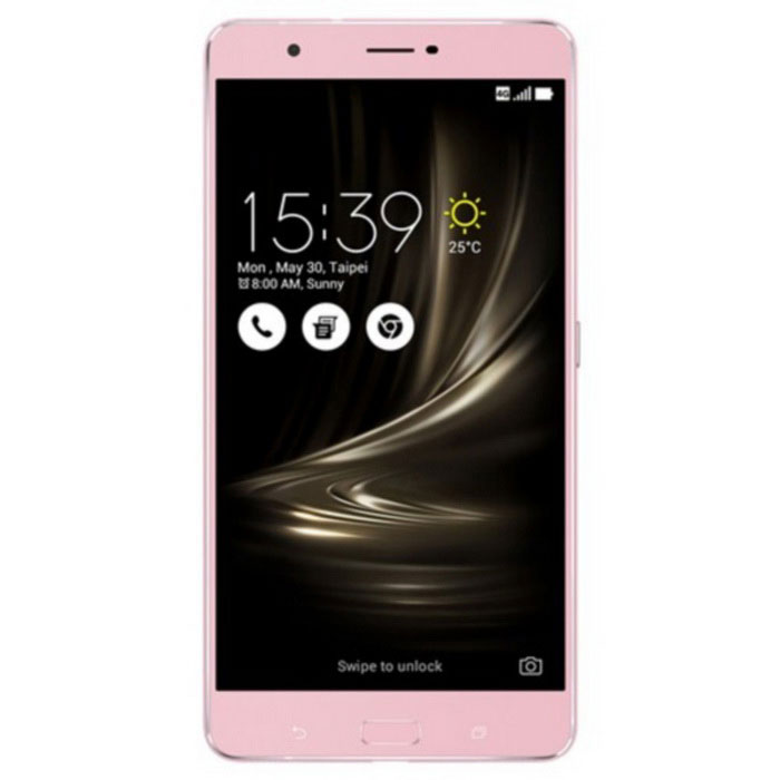 Asus Zenfone 3 Ultra ZU680KL 64GB ROM Dual SIM - Metallic PinkAndroid Phones<br>Form ColorRose GoldRAM4GBROM64GBBrandASUSModelZU680KLQuantity1 DX.PCM.Model.AttributeModel.UnitMaterialMetalShade Of ColorGoldPower AdapterOthers,Not specifyHousing Case MaterialMetalNetwork Type2G,3G,4GBand DetailsGSM850, GSM900, GSM1800, GSM1900, CDMA800 (BC0), UMTS800 (B6), UMTS850 (B5), UMTS900 (B8), UMTS1900 (B2), UMTS2100 (B1), UMTS800 (B19), LTE2100 (B1), TD-SCDMA2000, LTE700 (B29), LTE850 (B5), TD-SCDMA1900, LTE1800 (B3), LTE2600 (B7), LTE1900 (B2), LTE800 (B18), LTE900 (B8), LTE800 (B20), LTE800 (B26), TD-LTE2600 (B38), LTE800 (B19), TD-LTE2500 (B41), TD-LTE2300 (B40)Data TransferGPRS,HSDPA,EDGE,LTE,HSUPANetwork ConversationDual-Party ConversationsWLAN Wi-Fi 802.11 a,b,g,n,acSIM Card TypeMicro SIM,Nano SIMSIM Card Quantity2Network StandbyDual Network StandbyGPSYesNFCYesInfrared PortYesBluetooth VersionBluetooth V4.2Operating SystemOthers,Android 6.0.1CPU Processor4x1.8 GHz Cortex-A72 &amp; 4x1.4 GHz Cortex-A53CPU Core QuantityOcta-CoreGPUAdreno 510LanguageNot specifyAvailable Memory59.6 GBSize Range5.5 inches &amp; OverTouch Screen TypeYesScreen Resolution1920*1080Multitouch10Screen Size ( inches)Others,6.8 inchesCamera PixelOthers,23 MPFront Camera Pixels8 DX.PCM.Model.AttributeModel.UnitVideo Recording Resolution2160p@30fps, 1080p@30fpsFlashYesAuto FocusYesTouch FocusYesOther Camera Functionsface detection, HDROther Camera Features1/2.6 sensor size, 1 µm pixel size, geo-tagging, panoramaTalk Time34 DX.PCM.Model.AttributeModel.UnitStandby Time690 DX.PCM.Model.AttributeModel.UnitBattery Capacity4600 DX.PCM.Model.AttributeModel.UnitBattery ModeNon-removableQuick Charge60% in 45 minfeaturesWi-Fi,GPS,FM,Bluetooth,NFCSensorProximity,Compass,Accelerometer,Fingerprint authentication sensorWaterproof LevelIPX0 (Not Protected)I/O InterfaceMicro USB v2.0JAVANoRadio TunerFMReference Websites== Will this mobile phone work with a certain mobile carrier of yours? ==Packing List1*ZU680KL1*Earphone1*Charger1*Charger cable<br>