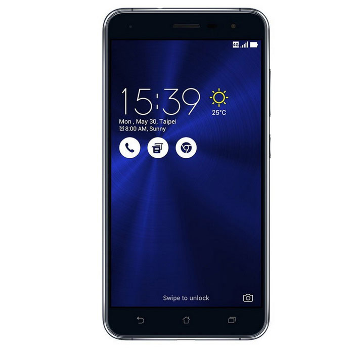 Asus Zenfone 3 ZE552KL Dual-SIM Smartphone w/ 4GB RAM 64GB ROM - BlackAndroid Phones<br>Form  ColorBlackRAM4GBROM64GBBrandASUSModelAsus  Zenfone 3 ZE552KL (4G Ram)Quantity1 DX.PCM.Model.AttributeModel.UnitMaterialGlass + MetalShade Of ColorBlackTypeBrand NewPower AdapterUSBHousing Case MaterialGlass + MetalTime of Release2016-7-12Network Type2G,3G,4GBand Details2G : 850/900/1800/1900 3G: WCDMA Band: 1/2/5/6/8/19 4G: FDD-LTE Band: 1/2/3/5/7/8/18/19/26/28         TDD-LTE Band: 38/39/40/41Data TransferHSDPA,LTENetwork ConversationOne-Party Conversation OnlyWLAN Wi-Fi 802.11 a,b,g,n,acSIM Card TypeMicro SIM,Nano SIMSIM Card Quantity2Network StandbyDual Network StandbyGPSYesNFCNoInfrared PortNoBluetooth VersionBluetooth V4.2Operating SystemAndroid 6.0CPU Processor64-bit Qualcomm® Octa-Core ProcessorSnapdragon 625 @2.0GhzCPU Core QuantityOcta-CoreGPUAdreno 506LanguageNot SpecifyAvailable MemoryeMCP  64GBMemory CardMicro SD CardMax. Expansion Supported256GBSize Range5.5 inches &amp; OverTouch Screen TypeYesScreen Resolution1920*1080Screen Size ( inches)5.5Screen Edge2.5D Curved EdgeCamera PixelOthers,16 MPFront Camera Pixels8 DX.PCM.Model.AttributeModel.UnitVideo Recording Resolution4KFlashYesAuto Focus0.03 second laser auto-focus<br>32 second long exposure<br>4-axis, 4 stops Optical Image Stabilization for steady photosTouch FocusYesOther Camera FunctionsPixelMaster Camera Modes:<br>Back Light (HDR) Mode<br>Low Light Mode<br>Manual Mode (for DSLR-like camera detail settings)<br>Real Time Beautification Mode<br>Super Resolution Mode (for up to 4X resolution photos<br>Other Camera Features:<br>Night Mode<br>Depth of Field Mode<br>Photo Effect Mode<br>Selfie Panorama, Selfie Mode<br>GIF Animation Mode<br>Panorama Selfie Mode<br>Miniature Mode<br>Time Rewind Mode<br>Smart Remove Mode<br>All Smiles Mode<br>Slow Motion Mode<br>Time Lapse ModeTalk Time4G:4 DX.PCM.Model.AttributeModel.UnitStandby Time125 DX.PCM.Model.AttributeModel.UnitBattery Capacity3000 DX.PCM.Model.AttributeModel.UnitBattery ModeNon-removablefeaturesWi-Fi,GPS,FM,BluetoothSensorG-sensor,Accelerometer,Fingerprint authentication sensor,Others,Accelerator/E-Compass/Gyroscope/Proximity sensor/Hall sensor/Ambient light sensor/RGB sensor/IR sensor/FingerprintWaterproof LevelIPX0 (Not Protected)Shock-proofNoI/O InterfaceMicro USB v2.0SoftwareAndroid 6.0 with brand-new ASUS ZenUI 3.0Other FeaturesOther Features :<br>I/O Ports<br>Type C 2.0<br>3.5mm audio jack(1 Head phone / Mic-in)<br>Network Standard<br>UMTS/WCDMA/TD-SCDMA/LTE/TDD-LTE/FDD-LTE<br>Data Rate:<br>HSPA+: UL 5.76 / DL 5.76 Mbps <br>DC-HSPA+: UL 5.76 / DL 42 Mbps<br>LTE Cat4:UL 50 / DL 150 Mbps (WW version)<br>LTE Cat6:UL 50 / DL 300 Mbps (TW/JP/HK version)<br>2G:<br>850/900/1800/1900<br>WW version:<br>3G:<br>WCDMA: Band: 1/2/5/8<br>4G:<br>FDD: Band: 1/2/3/5/7/8/20<br>ID/IN/TH version:<br>3G:<br>WCDMA: Band: 1/5/8<br>4G:<br>FDD: Band: 1/3/5/8<br>TD: Band: 40<br>TW/JP/HK/SG/PH version:<br>3G:<br>WCDMA: Band: 1/2/5/6/8/19<br>4G:<br>FDD: Band: 1/2/3/5/7/8/18/19/26/28<br>TD: Band: 38/39/40/41<br>US/BR version:<br>3G:<br>WCDMA: Band: 1/2/4/5/8<br>4G:<br>FDD: Band: 1/2/3/4/5/7/8/17/28<br>CN version:<br>3G:<br>WCDMA: Band: 1/2/5/8<br>TD-SCDMA: Band: 34/39<br>CDMA: BC0 4G:<br>FDD: Band: 1/2/3/5/7/8<br>TD: Band: 38/39/40/41<br>CDMA: BC0<br>ASUS phone 4G/LTE band compatibility varies by region. Please check compatibility with local carriers if intending to use your ASUS phone outside the original purchase region.<br><br>Power Adapter<br>Output: <br>5 V 2 A 10 W<br>User Interface<br>ASUS ZenUI 3.0Reference Websites== Will this mobile phone work with a certain mobile carrier of yours? ==Packing List1 x Asus Zenfone 3 ZE552KL Phone1 x USB1 x Charger 1 x User manual<br>