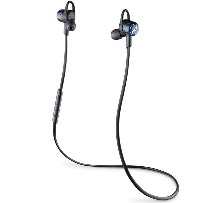 Plantronics BackBeat Go 3 Earphone - Cobalt BlackHeadphones<br>Form  ColorBlackModelPlantronics BackBeat Go 3MaterialPlasticQuantity1 setShade Of ColorBlackEar CouplingIn-EarBluetooth VersionBluetooth V3.0Operating RangeUp to 33 ft/10 m from phone or tabletRadio TunerNoMicrophoneYesSupports MusicYesApplicable ProductsUniversalBuilt-in Battery Capacity 180 mAhBattery TypeLi-ion batteryTalk TimeN/A hourMusic Play TimeMusic play time: Up to 6.5 hours listen (earbuds) hourStandby Time2/3 monthsPower AdapterUSBOther FeaturesFeatures:<br>Wireless Earbuds with High-Resolution Sound: Custom speakers and tuning deliver vivid, high-resolution sound, while the earbuds block out noise and seal in a rich listening experience.<br><br>Stable, Comfort-Fit Eartips: We 3D-mapped the human ear to create comfort-fit eartips that stay put even when you dont.<br><br>Sweatproof: A nano-coating by P2i protects the earbuds from light rain, humidity, and sweat.<br><br>Wireless Control: Convenient inline controls let you adjust volume, skips tracks, take a quick call, or ask your smartphone to play a favorite playlist.<br><br>Long Lasting Battery Life: Up to 6.5 hours of non-stop listening so you can put your favorite playlist on repeat.BrandPlantronicsConnectionBluetoothHeadphone StyleIn-EarWaterproof LevelIPX0 (Not Protected)Headphone FeaturesLightweight,PortableSupport Memory CardNoSupport Apt-XNoForm  ColorBlackPacking List1 * Plantronics Earbuds1 * 2-in-1 USB Charge Cable1 * Additional Eartips (S/M/L)1 * Clip-on Stabilisers1 * User Documentation<br>