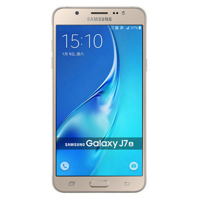 Samsung J7 2016 J7108 DUAL SIM 3GB RAM 16GB ROM - GoldAndroid Phones<br>Form ColorGoldenRAM3GBROM16GBBrandSamsungModelJ7108Quantity1 DX.PCM.Model.AttributeModel.UnitMaterialstainless steel and plasticShade Of ColorGoldPower AdapterOthers,Not specifyHousing Case MaterialMetalNetwork Type2G,3G,4GBand DetailsGSM850, GSM900, GSM1800, GSM1900, UMTS850 (B5), UMTS900 (B8), UMTS1900 (B2), UMTS2100 (B1), LTE2100 (B1), TD-SCDMA2000, TD-SCDMA1900, LTE1800 (B3), LTE2600 (B7), LTE900 (B8), TD-LTE2600 (B38), TD-LTE2500 (B41), TD-LTE2300 (B40), TD-LTE1900 (B39)Data TransferGPRS,HSDPA,EDGE,LTENetwork ConversationDual-Party ConversationsWLAN Wi-Fi 802.11 b,g,nSIM Card TypeMicro SIMSIM Card Quantity2Network StandbyDual Network StandbyGPSYesNFCYesBluetooth VersionBluetooth V4.1Operating SystemOthers,Android 5.1CPU ProcessorOcta-core (4x1.6 GHz Cortex-A53 &amp; 4x1.0 GHz Cortex-A53), Octa-core 1.6 GHz Cortex-A53CPU Core QuantityOcta-CoreGPUAdreno 405, Mali-T830MP2Languagenot specifyAvailable Memory14.9 GBMemory CardMicro SDMax. Expansion Supported128GBSize Range5.5 inches &amp; OverTouch Screen TypeYesScreen Resolution1920*1080Screen Size ( inches)5.5Camera Pixel13.0MPFront Camera Pixels5 DX.PCM.Model.AttributeModel.UnitVideo Recording Resolution1080p@30fpsFlashYesAuto FocusYesTouch FocusYesOther Camera FunctionsGeo-tagging, face detection, panorama, HDRTalk Time24 DX.PCM.Model.AttributeModel.UnitStandby Time101 DX.PCM.Model.AttributeModel.UnitBattery Capacity3300 DX.PCM.Model.AttributeModel.UnitBattery ModeReplacementfeaturesWi-Fi,GPS,FM,Bluetooth,NFCSensorProximity,Compass,AccelerometerWaterproof LevelIPX0 (Not Protected)I/O InterfaceMicro USB v2.0JAVANoRadio TunerFMReference Websites== Will this mobile phone work with a certain mobile carrier of yours? ==Packing List1*J71081*User manual 1*Charger1*USB cable1*Li-lon 3000mAh battery<br>