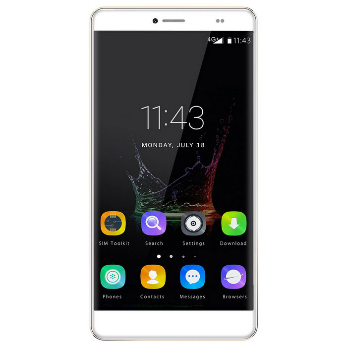 BLUBOO Maya Max 6.0 4G Smartphone w/ 3GB RAM, 32GB ROM - Gold + WhiteAndroid Phones<br>Form ColorWhite + GoldenRAM3GBROM32GBBrandOthers,BLUBOOModelMaya MaxQuantity1 DX.PCM.Model.AttributeModel.UnitMaterialMetalShade Of ColorWhiteTypeBrand NewPower AdapterEU PlugHousing Case MaterialMetalTime of Release2016/8/25Network Type2G,3G,4GBand DetailsGSM: B5(850)/B8(900)/B3(1800)/B2(1900)WCDMA::B5(850)/B1(2100) FDD-LTE:B1(2100)/B3(1800)/B7(2600)/B20(800)Data TransferGPRS,HSDPA,EDGE,LTE,HSUPANetwork ConversationOne-Party Conversation OnlyWLAN Wi-Fi 802.11 a,b,g,n,acSIM Card TypeMicro SIMSIM Card Quantity2Network StandbyDual Network StandbyGPSYesNFCNoInfrared PortNoBluetooth VersionBluetooth V4.0Operating SystemAndroid 6.0CPU Processor1.5GHzCPU Core QuantityOcta-CoreGPUARM Mali-T860 MP2 350MHzLanguageIndonesia, Bahasa Melayu, Catalonia, Czech, Danish, German, Estonia, English Spanish, Philippines, French, Croatia, Italian, Latvia, Lithuania, Magyar Nederlands, Norwegian, Polish, Portuguese , Rome,  Slovakia, Slovenia, Suomi, Svenska, Vietnamese, TurkeyGreece, Bulgarian, Kazakh, Russian, Serbia, Ukraine, Armenian, Hebrew, Uhl, Arabic, Persian, Hindi, Bengal, Thai, Burma, Kampuchea, Korean, Chinese, Traditional Chinese, JapaneseAvailable Memory25.51GBMemory CardSupportedMax. Expansion Supported128GBSize Range5.5 inches &amp; OverTouch Screen TypeOthers,JDI  OGSScreen Resolution1280*720Multitouch10Screen Size ( inches)6.0Screen Edge2.5D Curved EdgeCamera Pixel13.0MPFront Camera Pixels8.0 DX.PCM.Model.AttributeModel.UnitVideo Recording Resolution1080PFlashYesAuto FocusyesTouch FocusYesOther Camera FunctionsSupportedTalk Time460 DX.PCM.Model.AttributeModel.UnitStandby Time240 DX.PCM.Model.AttributeModel.UnitBattery Capacity4200 DX.PCM.Model.AttributeModel.UnitBattery ModeNon-removableQuick ChargeSupportedfeaturesWi-Fi,GPS,FM,Bluetooth,OTGSensorG-sensor,Proximity,Accelerometer,Fingerprint authentication sensor,Others,Light-sensorWaterproof LevelIPX0 (Not Protected)Shock-proofNoI/O InterfaceUSB Type-cSoftwareFMalarmlist...Format SupportedMP4, AVI, 3GPJAVAYesRadio TunerFMWireless ChargingNoReference Websites== Will this mobile phone work with a certain mobile carrier of yours? ==CertificationCE WEEE ROSH MSDS UN38.3Packing List1 * Cellphone1 * Quick Guide1 * Charger1 * USB Data Cable 1 * Warranty Card 1 * English User Manual1 * TPU Protective shell<br>