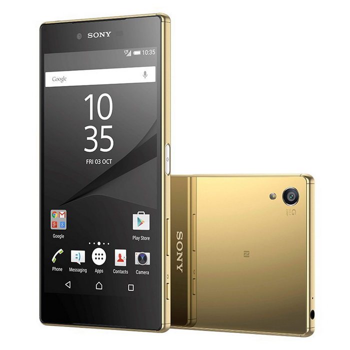 Sony Xperia Z5 Premium E6833 Dual-Sim 32B - GoldAndroid Phones<br>Form  ColorGoldenRAM4GBROM32GBBrandSONYModelSony Xperia Z5 Premium Dual 4G - E6833Quantity1 DX.PCM.Model.AttributeModel.UnitMaterialGlassShade Of ColorGoldTypeBrand NewPower AdapterUSBHousing Case MaterialGlassNetwork Type2G,3G,4GBand Details4G bands: LTE band 1(2100), 2(1900), 3(1800), 4(1700/2100), 5(850), 7(2600), 8(900), 12(700), 17(700), 20(800) - E6833 LTE band 1(2100), 2(1900), 3(1800), 4(1700/2100), 5(850), 7(2600), 8(900), 12(700), 17(700), 20(800), 38(2600), 39(1900), 40(2300), 41(2500) - E6883Data TransferGPRS,HSDPA,EDGE,LTE,HSUPANetwork ConversationOne-Party Conversation OnlyWLAN Wi-Fi 802.11 a,b,g,n,acSIM Card TypeNano SIMSIM Card Quantity2GPSA-GPSNFCYesInfrared PortNoBluetooth VersionBluetooth V4.1Operating SystemAndroid 5.1CPU ProcessorOcta-core (4x1.5 GHz Cortex-A53 &amp; 4x2.0 GHz Cortex-A57)CPU Core QuantityOcta-CoreGPUAdreno 430LanguageNot specifyAvailable Memory29.3 GBMemory CardmicroSDMax. Expansion Supportedup to 256 GBSize Range5.5 inches &amp; OverTouch Screen TypeYesScreen ResolutionOthers,2160*3840Multitouch10Screen Size ( inches)4.0Camera PixelOthers,12 MPFront Camera Pixels5.1 DX.PCM.Model.AttributeModel.UnitVideo Recording Resolution2160p@30fps, 1080p@60fps, 720p@120fps, HDR,FlashYesTouch FocusYesOther Camera Features1/2.3 sensor size, geo-tagging, touch focus, face detection, HDR, panoramaTalk TimeNot specify DX.PCM.Model.AttributeModel.UnitStandby TimeNot specify DX.PCM.Model.AttributeModel.UnitBattery Capacity3430 DX.PCM.Model.AttributeModel.UnitBattery ModeNon-removableQuick Charge60% in 30 min (Quick Charge 2.0)featuresWi-Fi,GPS,FM,Bluetooth,NFCSensorProximity,Compass,Accelerometer,Barometer,Fingerprint authentication sensorWaterproof LevelOthers,IP68Dust-proof LevelIP68 certified - dust proof and water resistant over 1.5 meter and 30 minutesShock-proofYesI/O InterfaceMicro USBOther FeaturesOther Features:<br>Cellular Networks E6833:  GSM850, GSM900, GSM1800, GSM1900, UMTS850 (B5), UMTS900 (B8), UMTS1700/2100 (B4), UMTS1900 (B2), UMTS2100 (B1), LTE2100 (B1), LTE700 (B17), LTE850 (B5), LTE1700/2100 (B4), LTE1800 (B3), LTE2600 (B7), LTE1900 (B2), LTE900 (B8), LTE800 (B20), LTE700 (B12)<br>Messaging<br>SMS (threaded view), MMS, Email, IM, Push Email<br>Browser<br>HTML5<br> <br>- ANT+ support<br>- Xvid/MP4/H.265 player<br>- MP3/eAAC+/WAV/Flac player<br>- Document viewer<br>- Photo/video editor<br>Predecessor Model:Sony Xperia Z3+ Dual TD-LTE E6533 / Xperia Z4Reference Websites== Will this mobile phone work with a certain mobile carrier of yours? ==Packing List1 x Sony Xperia Z5 Premium Dual E6833      1 x Plug Power Adapter1 x User Manual<br>