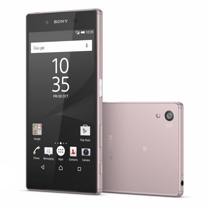 Sony Xperia Z5 Premium 4G - E6853 - PinkAndroid Phones<br>Form  ColorPinkRAM4GBROM32GBBrandSONYModelXperia Z5 Premium 4G - E6853Quantity1 DX.PCM.Model.AttributeModel.UnitMaterialGlassShade Of ColorPinkTypeBrand NewPower AdapterUSBHousing Case MaterialGlassNetwork Type4GBand Details4 G LTE band 1(2100), 2(1900), 3(1800), 4(1700/2100), 5(850), 7(2600), 8(900), 12(700), 17(700), 20(800), 28(700), 38(2600), 40(2300) - E6853Data TransferGPRS,HSDPA,EDGE,LTE,HSUPANetwork ConversationDual-Party ConversationsWLAN Wi-Fi 802.11 a,b,g,n,acSIM Card TypeNano SIMSIM Card Quantity1GPSYesNFCYesInfrared PortNoBluetooth VersionBluetooth V4.1Operating SystemOthers,Android OS, v5.1.1CPU ProcessorOcta-core (4x1.5 GHz Cortex-A53 &amp; 4x2.0 GHz Cortex-A57)CPU Core QuantityOcta-CoreGPUAdreno 430LanguageNot specifyAvailable MemoryInternal 32 GB, 3 GB RAMMemory CardMicro SDMax. Expansion SupportedUp to 256 GBSize Range5.5 inches &amp; OverTouch Screen TypeYesScreen ResolutionOthers,2160*3840Multitouch10Screen Size ( inches)4.0Camera PixelOthers,23 MPFront Camera Pixels5.1 MP DX.PCM.Model.AttributeModel.UnitVideo Recording Resolution2160p@30fps, 1080p@60fps, 720p@120fps, HDR,FlashYesTouch FocusYesOther Camera Features1/2.3 sensor size, geo-tagging, touch focus, face detection, HDR, panoramaTalk TimeNot specify DX.PCM.Model.AttributeModel.UnitStandby TimeNot specify DX.PCM.Model.AttributeModel.UnitBattery Capacity3430 DX.PCM.Model.AttributeModel.UnitBattery ModeNon-removableQuick Charge60% in 30 min (Quick Charge 2.0)featuresWi-Fi,GPS,FM,Bluetooth,NFCSensorOthers,Fingerprint, accelerometer, gyro, proximity, compass, barometerWaterproof LevelOthers,IP68Dust-proof Leveldust proof and water resistant over 1.5 meter and 30 minutesI/O InterfaceMicro USB v2.0JAVANoOther FeaturesCellular Networks E6853:<br>GSM850, GSM900, GSM1800, GSM1900, UMTS850 (B5), UMTS900 (B8), UMTS1900 (B2), UMTS2100 (B1), LTE2100 (B1), LTE700 (B17), LTE850 (B5), LTE1700/2100 (B4), LTE1800 (B3), LTE2600 (B7), LTE1900 (B2), LTE900 (B8), LTE800 (B20), LTE700 (B12), TD-LTE2600 (B38), TD-LTE2300 (B40), LTE700 (B28)<br>Messaging : SMS (threaded view), MMS, Email, IM, Push Email<br><br>Browser : HTML5<br><br><br>- ANT+ support<br>- Xvid/MP4/H.265 player<br>- MP3/eAAC+/WAV/Flac player<br>- Document viewer<br>- Photo/video editorReference Websites== Will this mobile phone work with a certain mobile carrier of yours? ==Packing List1 * Sony Xperia Z5 Premium E68531 * Plug Power Adapter1 * User Manual<br>