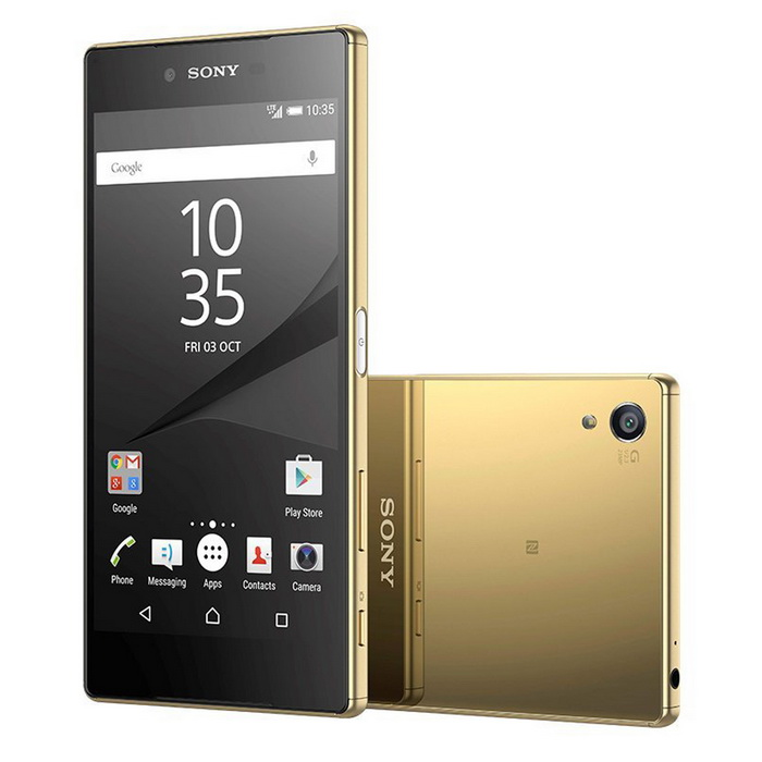 Sony Xperia Z5 Premium Dual Sim 4GB RAM, 32GB ROM  E6883 - GoldAndroid Phones<br>Form  ColorGoldenRAM4GBROM32GBBrandSONYModelXperia Z5 Premium Dual 4G - E6883Quantity1 DX.PCM.Model.AttributeModel.UnitMaterialGlassShade Of ColorGoldTypeBrand NewPower AdapterUSBHousing Case MaterialGlassNetwork Type4GBand Details4G bands: LTE band 1(2100), 2(1900), 3(1800), 4(1700/2100), 5(850), 7(2600), 8(900), 12(700), 17(700), 20(800) - E6833 LTE band 1(2100), 2(1900), 3(1800), 4(1700/2100), 5(850), 7(2600), 8(900), 12(700), 17(700), 20(800), 38(2600), 39(1900), 40(2300), 41(2500) - E6883Data TransferGPRS,HSDPA,EDGE,LTENetwork ConversationDual-Party ConversationsWLAN Wi-Fi 802.11 a,b,g,n,acSIM Card TypeOthers,Nano-SIM, dual stand-bySIM Card Quantity2GPSYesNFCYesInfrared PortNoBluetooth VersionBluetooth V4.1Operating SystemOthers,Android OS, v5.1.1CPU ProcessorOcta-core (4x1.5 GHz Cortex-A53 &amp; 4x2.0 GHz Cortex-A57)CPU Core QuantityOcta-CoreGPUAdreno 430LanguageNot specifyAvailable MemoryInternal 32 GB, 3 GB RAMMemory CardmicroSDMax. Expansion Supportedup to 256 GBSize Range5.5 inches &amp; OverTouch Screen TypeYesScreen ResolutionOthers,2160*3840Multitouch10Screen Size ( inches)4.0Camera PixelOthers,23 MPFront Camera Pixels5.1 DX.PCM.Model.AttributeModel.UnitVideo Recording Resolution2160p@30fps, 1080p@60fps, 720p@120fps, HDR,FlashYesTouch FocusYesOther Camera Features1/2.3 sensor size, geo-tagging, touch focus, face detection, HDR, panoramaTalk TimeNot specify DX.PCM.Model.AttributeModel.UnitStandby TimeNot specify DX.PCM.Model.AttributeModel.UnitBattery Capacity3430 DX.PCM.Model.AttributeModel.UnitBattery ModeNon-removableQuick Charge60% in 30 min (Quick Charge 2.0)featuresWi-Fi,GPS,FM,Bluetooth,NFCSensorOthers,Fingerprint, accelerometer, gyro, proximity, compass, barometerWaterproof LevelOthers,IP68Dust-proof Leveldust proof and water resistant over 1.5 meter and 30 minutesShock-proofYesI/O InterfaceOthers,microUSB v2.0 (MHL 3 TV-out), USB HostOther FeaturesCellular Networks E6883:<br>GSM850, GSM900, GSM1800, GSM1900, UMTS850 (B5), UMTS900 (B8), UMTS1700/2100 (B4), UMTS1900 (B2), UMTS2100 (B1), LTE2100 (B1), LTE700 (B17), LTE850 (B5), LTE1700/2100 (B4), LTE1800 (B3), LTE2600 (B7), LTE1900 (B2), LTE900 (B8), LTE800 (B20), LTE700 (B12), TD-LTE2600 (B38), TD-LTE2500 (B41), TD-LTE2300 (B40), TD-LTE1900 (B39) <br><br>Messaging<br>SMS (threaded view), MMS, Email, IM, Push Email<br>Browser<br>HTML5<br> <br>- ANT+ support<br>- Xvid/MP4/H.265 player<br>- MP3/eAAC+/WAV/Flac player<br>- Document viewer<br>- Photo/video editor<br>Predecessor Model: NoReference Websites== Will this mobile phone work with a certain mobile carrier of yours? ==Packing List1 * Sony Xperia Z5 Premium Dual E6883 1 * Plug Power Adapter1 * User Manual<br>