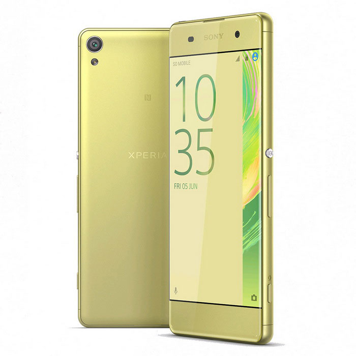 Sony Xperia XA F3116 2GB RAM 16GB ROM Dual SIM - GoldAndroid Phones<br>Form ColorGoldenRAM2GBROM16GBBrandSONYModelF3116Quantity1 DX.PCM.Model.AttributeModel.UnitMaterialmetal + glassShade Of ColorGoldPower AdapterUSBNetwork Type2G,3GBand DetailsGSM850, GSM900, GSM1800, GSM1900, UMTS850 (B5), UMTS900 (B8), UMTS1900 (B2), UMTS2100 (B1), LTE2100 (B1), LTE850 (B5), LTE1800 (B3), LTE2600 (B7), LTE900 (B8), TD-LTE2600 (B38), TD-LTE2300 (B40), TD-LTE1900 (B39), LTE700 (B28)Data TransferGPRS,HSDPA,EDGE,LTE,HSUPANetwork ConversationDual-Party ConversationsWLAN Wi-Fi 802.11 a,b,g,nSIM Card TypeNano SIMSIM Card Quantity2Network StandbySingle StandbyGPSYesNFCYesBluetooth VersionBluetooth V4.1Operating SystemOthers,Android 6.0.1CPU ProcessorMediaTek MT6755  Octa-core (4x2.0 GHz Cortex-A53 &amp; 4x1.0 GHz)CPU Core QuantityOcta-CoreGPUMali-T860MP2Languagenot specifyAvailable Memory8.2GBMemory CardmicroSDMax. Expansion Supported256GBSize Range5.0~5.4 inchesTouch Screen TypeYesScreen Resolution1280*720Screen Size ( inches)5.0Camera Pixel13.0MPFront Camera Pixels8 DX.PCM.Model.AttributeModel.UnitVideo Recording Resolution1080p@30fpsFlashYesAuto FocusYesTouch FocusYesOther Camera Features1/3 sensor size, geo-tagging, face detection, HDR, panoramaTalk Time10 DX.PCM.Model.AttributeModel.UnitStandby Time466 DX.PCM.Model.AttributeModel.UnitBattery Capacity2300 DX.PCM.Model.AttributeModel.UnitfeaturesWi-Fi,GPS,FM,Bluetooth,NFCSensorProximity,Compass,AccelerometerWaterproof LevelIPX0 (Not Protected)I/O InterfaceMicro USB v2.0JAVANoRadio TunerFMReference Websites== Will this mobile phone work with a certain mobile carrier of yours? ==Packing ListXperia XA F3116 * 1Manual * 1Headset * 1 Charger * 1 USB Cable * 1<br>
