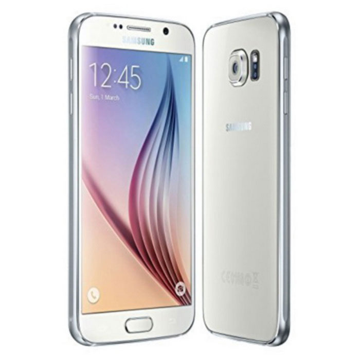 Samsung S6 G9208 3GB RAM 32GB ROM - WhiteAndroid Phones<br>Form ColorWhiteRAM3GBROM32GBBrandSamsungModelG9208Quantity1 DX.PCM.Model.AttributeModel.UnitMaterialmetal + glassShade Of ColorWhitePower AdapterUSBNetwork Type4GBand DetailsGSM900, GSM1800, GSM1900, UMTS850 (B5), UMTS900 (B8), UMTS1900 (B2), UMTS2100 (B1), LTE2100 (B1), TD-SCDMA2000, TD-SCDMA1900, LTE1700/2100 (B4), LTE1800 (B3), LTE2600 (B7), LTE900 (B8), TD-LTE2600 (B38), TD-LTE2500 (B41), TD-LTE2300 (B40), TD-LTE1900 (B39), LTE700 (B28)Data TransferGPRS,HSDPA,EDGE,LTE,HSUPANetwork ConversationDual-Party ConversationsWLAN Wi-Fi 802.11 a,b,g,n,acSIM Card TypeNano SIMSIM Card Quantity1GPSYesNFCYesBluetooth VersionBluetooth V4.1Operating SystemOthers,Android 5.0.2CPU ProcessorSamsung Exynos 7 Octa 7420 Octa-core (4x2.1 GHz Cortex-A57 &amp; 4x1.5 GHz Cortex-A53)CPU Core QuantityOcta-CoreGPUMali-T760MP8Languagenot specifyAvailable Memory25.1 GBMemory CardN/ASize Range5.0~5.4 inchesTouch Screen TypeYesScreen Resolution2560*1440MultitouchOthers,YesScreen Size ( inches)Others,5.1Camera PixelOthers,16MPFront Camera Pixels5 DX.PCM.Model.AttributeModel.UnitVideo Recording Resolution2160p@30fps, 1080p@60fps, 720p@120fps, HDR, dual-video rec.FlashYesAuto FocusYesTouch FocusYesOther Camera Features1/2.6 sensor size, 1.12 µm pixel size, geo-tagging, face detection, Auto HDR, panoramaTalk Time17 DX.PCM.Model.AttributeModel.UnitStandby Time240 DX.PCM.Model.AttributeModel.UnitBattery Capacity2550 DX.PCM.Model.AttributeModel.UnitfeaturesWi-Fi,GPS,Bluetooth,NFC,OTGSensorG-sensor,Proximity,Compass,Accelerometer,Heart rate,Barometer,Fingerprint authentication sensorWaterproof LevelIPX0 (Not Protected)I/O InterfaceMicro USB v2.0JAVANoReference Websites== Will this mobile phone work with a certain mobile carrier of yours? ==Packing List1 x G92081 x Manuel1 x Headphone1 x Changer1 x Battery1 x USB Cable<br>