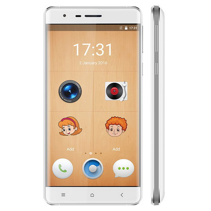 OUKITEL K4000 Lite 4G Cell Phone MTK6735 Quad-Core Android 5.1 - White(SKU 852448523)