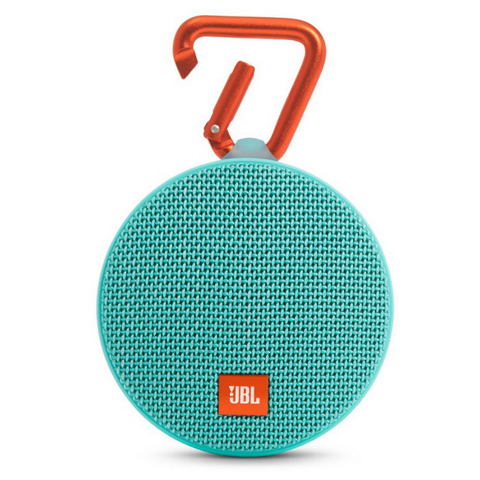 JBL Clip 2 Waterproof Portable Bluetooth Speaker - GreenBluetooth Speakers<br>Form ColorGreenModelClip 2MaterialPlastic + MetalQuantity1 DX.PCM.Model.AttributeModel.UnitShade Of ColorGreenBluetooth HandsfreeYesBluetooth VersionOthers,Bluetooth v4.1Operating Range10mTotal Power3 DX.PCM.Model.AttributeModel.UnitInterfaceOthers,3.5mm (AUX) and micro-USBFrequency Response120 Hz~20 kHzApplicable ProductsUniversalBuilt-in Battery Capacity 730 DX.PCM.Model.AttributeModel.UnitBattery TypeLi-ion batteryTalk Time8 DX.PCM.Model.AttributeModel.UnitStandby Time400 DX.PCM.Model.AttributeModel.UnitMusic Play Time5Power AdapterUSBPacking List1 * JBL Clip 21 * Micro USB cable for charging1 * Quick start guide<br>
