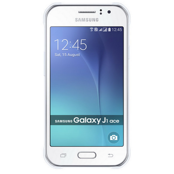 Samsung Galaxy J1 Ace SM-J111F w/ 1GB RAM, 8GB ROM, Dual Sim - WhiteAndroid Phones<br>Form ColorWhiteRAM1GBROM8GBBrandSamsungModelJ111FQuantity1 DX.PCM.Model.AttributeModel.UnitMaterialMetal + plasticShade Of ColorWhitePower AdapterOthers,not specificHousing Case MaterialmetalNetwork Type2G,3G,4GBand DetailsGSM 850 / 900 / 1800 / 1900 - SIM 1 &amp; SIM 2 ; HSDPA 850 / 900 / 2100 ; LTE FDD B1(2100), B3(1800), B5(850), B7(2600), B8(900), B20(800); 4G TDD LTE B40(2300)Data TransferGPRS,HSDPA,EDGE,LTENetwork ConversationOne-Party Conversation OnlyWLAN Wi-Fi 802.11 b,g,nSIM Card TypeMicro SIMSIM Card Quantity2Network StandbyDual Network StandbyGPSYesNFCNoInfrared PortNoBluetooth VersionBluetooth V4.0Operating SystemAndroid 4.4CPU ProcessorQuad-core 1.5 GHz Cortex-A7CPU Core QuantityQuad-CoreGPUMali-400MP2Languagenot specificAvailable Memory4.4GBMemory CardMicro SDMax. Expansion Supported128GBSize Range4.0~4.4 inchesTouch Screen TypeYesScreen Resolution800*480Screen Size ( inches)4.3Camera Pixel5.0MPFront Camera Pixels2 DX.PCM.Model.AttributeModel.UnitVideo Recording Resolution720p@30fpsFlashYesAuto FocusYesTouch FocusYesOther Camera FunctionsFeature :Geo-tagging, face detection, panoramaTalk Time10 DX.PCM.Model.AttributeModel.UnitStandby Time210 DX.PCM.Model.AttributeModel.UnitBattery Capacity1900 DX.PCM.Model.AttributeModel.UnitBattery ModeReplacementfeaturesWi-Fi,GPS,FM,BluetoothSensorProximity,AccelerometerWaterproof LevelIPX0 (Not Protected)I/O InterfaceMicro USB v2.0JAVANoTV TunerNoRadio TunerFMReference Websites== Will this mobile phone work with a certain mobile carrier of yours? ==Packing List1 * Battery1 * Charger1 * USB Cable1 * User Manual<br>