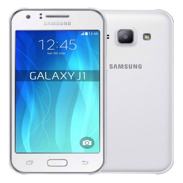 Samsung Galaxy J1 2016 J120H w/ 1GB RAM, 8GB ROM, Dual Sim 3G - WhiteAndroid Phones<br>Form ColorWhiteRAM1GBROM8GBBrandSamsungModelJ120HQuantity1 DX.PCM.Model.AttributeModel.UnitMaterialMetal + plasticShade Of ColorWhitePower AdapterOthers,not specificHousing Case MaterialMetalNetwork Type2G,3GBand DetailsGSM 1800, 1900, 850, 900 UMTS 900, 2100 HSPA 900, 2100Data TransferGPRS,HSDPANetwork ConversationOne-Party Conversation OnlyWLAN Wi-Fi 802.11 b,g,nSIM Card TypeMicro SIMSIM Card Quantity2Network StandbyDual Network StandbyGPSYesNFCYesInfrared PortNoBluetooth VersionBluetooth V4.1Operating SystemAndroid 5.1CPU ProcessorQuad-core 1.3 GHz Cortex-A7CPU Core QuantityQuad-CoreGPUMali-400LanguageNot specificAvailable Memory7.5 GBMemory CardMicro SDMax. Expansion Supported128GBSize Range4.5~4.9 inchesTouch Screen TypeYesScreen Resolution800*480Screen Size ( inches)4.5Camera Pixel5.0MPFront Camera Pixels2 DX.PCM.Model.AttributeModel.UnitVideo Recording Resolution720p@30fpsFlashYesAuto FocusYesTouch FocusYesOther Camera FunctionsGeo-tagging, face detectionTalk Time12 DX.PCM.Model.AttributeModel.UnitStandby Time205 DX.PCM.Model.AttributeModel.UnitBattery Capacity2050 DX.PCM.Model.AttributeModel.UnitBattery ModeReplacementfeaturesWi-Fi,GPS,FM,Bluetooth,NFCSensorProximity,AccelerometerWaterproof LevelIPX0 (Not Protected)I/O InterfaceMicro USB v2.0JAVANoTV TunerNoRadio TunerFMReference Websites== Will this mobile phone work with a certain mobile carrier of yours? ==Packing List1* J120H1* Earphone1* Charger1* User Manual1* 2050mAh battery<br>