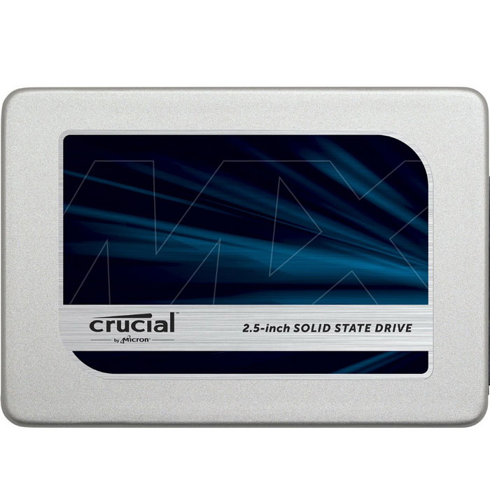 Crucial MX300 525GB SATA 2.5 Internal SSD CT525MX300SSD1HDD &amp; SSD<br>Form  Color525GBModelCT525MX300SSD1Quantity1 setMaterialSSDInterfaceSATA 3.0Capacity / ROMOthers,525GBForm Factor2.5Max Sequential Read530 MB/sMax Sequential Write510 MB/sBrandCrucialTypeSSDApplicationLaptop  (2.5, M.2, mSATA)Packing List1 X SSD<br>