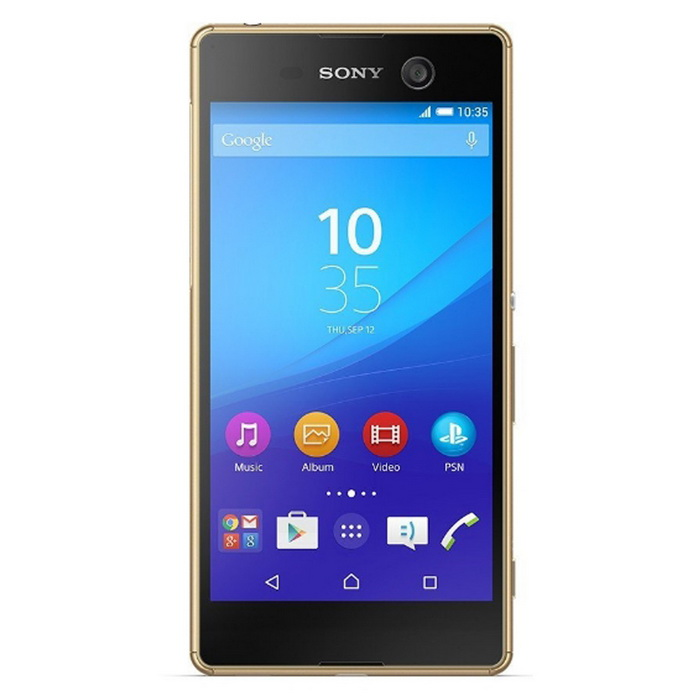 Sony M5 E5633 3GB RAM 16GB ROM Dual SIM - GoldenAndroid Phones<br>Form  ColorGoldenRAM3GBROM16GBBrandSONYModelE5633Quantity1 DX.PCM.Model.AttributeModel.UnitMaterialmetal + glassShade Of ColorGoldPower AdapterUSBNetwork Type2G,3G,4GBand DetailsGSM850, GSM900, GSM1800, GSM1900, UMTS850 (B5), UMTS900 (B8), UMTS1900 (B2), UMTS2100 (B1), LTE2100 (B1), LTE850 (B5), LTE1800 (B3), LTE2600 (B7), LTE900 (B8), LTE800 (B20)Data TransferGPRS,HSDPA,EDGE,LTE,HSUPANetwork ConversationDual-Party ConversationsWLAN Wi-Fi 802.11 a,b,g,nSIM Card TypeNano SIMSIM Card Quantity2Network StandbyDual Network StandbyGPSA-GPSNFCYesBluetooth VersionBluetooth V4.1Operating SystemAndroid 5.0CPU ProcessorMediaTek MT6795 (Octa-core 2.0 GHz Cortex-A53)CPU Core QuantityOcta-CoreGPUPowerVR G6200Languagenot specifyAvailable Memory2.8 GBSize Range5.0~5.4 inchesTouch Screen TypeYesScreen Resolution1920*1080Screen Size ( inches)5.0Camera PixelOthers,21.2 MPFront Camera Pixels13 DX.PCM.Model.AttributeModel.UnitVideo Recording Resolution2160p@30fpsFlashYesAuto FocusYesTouch FocusYesOther Camera FeaturesGeo-tagging, face/smile detection, HDR, panoramaTalk Time11.8 DX.PCM.Model.AttributeModel.UnitStandby Time495 DX.PCM.Model.AttributeModel.UnitBattery Capacity2600 DX.PCM.Model.AttributeModel.UnitfeaturesWi-Fi,GPS,FM,Bluetooth,NFC,OTGSensorProximity,Compass,AccelerometerWaterproof LevelIPX0 (Not Protected)I/O InterfaceMicro USB v2.0Format SupportedYesJAVANoRadio TunerFMReference Websites== Will this mobile phone work with a certain mobile carrier of yours? ==Packing List1 x phone1 x charger1 x USB cable1 x screen protector1 x user menu1 x earphone<br>