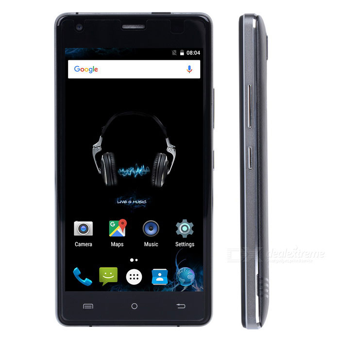 CUBOT ECHO 5.0 IPS Quad-Core 3G Phone w/ 2GB RAM, 16GB ROM - BlackAndroid Phones<br>Form ColorBlackRAM2GBROM16GBBrandCUBOTModelechoQuantity1 DX.PCM.Model.AttributeModel.UnitMaterialCNC frame + PlasticShade Of ColorBlackTypeBrand NewPower AdapterEU PlugHousing Case MaterialPlastic +  alloyTime of Release2016-10Network Type2G,3GBand Details2G: GSM 850/900/1800/1900MHz; 3G: WCDMA 850/900/2100MHzData TransferGPRS,HSDPA,EDGENetwork ConversationOne-Party Conversation OnlyWLAN Wi-Fi 802.11 b,g,n,Others,2.4G,WiFi-HotspotSIM Card TypeStandard SIM,Micro SIMSIM Card Quantity2Network StandbyDual Network StandbyGPSYesNFCNoInfrared PortNoBluetooth VersionBluetooth V4.0Operating SystemAndroid 6.0CPU ProcessorMTK6580CPU Core QuantityQuad-CoreGPUMali-400MPLanguageJapanese, Traditional / simplified Chinese, Indonesian, Malay, Catalan, Czech, Danish, German, English, Spanish, Filipino, French, Italian, Hungarian, Dutch, Polish, Portuguese, Latin, Dave, leah, Finnish, Swedish, Vietnamese, Turkish, Greek, Bulgarian, Russian, Serbian, Ukrainian, Hebrew, Arabic, Hindi, Bengali, and Hindi, Thai, KoreanAvailable Memory10GBMemory CardSupports Micro SD / TF card up to 128GB in size (not included)Max. Expansion Supported128GBSize Range5.0~5.4 inchesTouch Screen TypeOthers,IPS , GFF multi point touchScreen Resolution1280*720Multitouch5Screen Size ( inches)5.0Screen Edge2D Curved EdgeCamera Pixel13.0MPFront Camera Pixels5 DX.PCM.Model.AttributeModel.UnitFlashYesAuto FocusYesTouch FocusYesOther Camera FunctionsFRONT CAMERA 5.0MP  Intelligent beautyOther Camera FeaturesAuto focus<br>5P lens, ?/ 2.0 aperture<br>with 0.5A LED flashlightTalk Time240 DX.PCM.Model.AttributeModel.UnitStandby Time300 DX.PCM.Model.AttributeModel.UnitBattery Capacity3000 DX.PCM.Model.AttributeModel.UnitBattery ModeReplacementfeaturesWi-Fi,GPS,FM,Bluetooth,OTGSensorG-sensor,Proximity,AccelerometerWaterproof LevelOthers,N/AI/O InterfaceMicro USB,3.5mm,SIM Slot,OTG,Others,TF card  SlotSoftwarePlay Store, E-mail, Calculator, File manager, Clock, Calendar, Gallery, Video Player, Music, Sound Recorder, BrowserFormat SupportedAVI, MP4, 3GP, MOV, MKV, FLV, FLAC, APE, MP3, OGG, AMR, AAC, JPG, PNG, BMP, GIFJAVAYesTV TunerNoRadio TunerFMWireless ChargingNoOther FeaturesCubot Echo adopt AW87319 power amplifier chip which is special develop for improving smart phone music quality. It has 8.5V loud sound, mega bass, TLTR-AGC 9th K sound.Reference Websites== Will this mobile phone work with a certain mobile carrier of yours? ==CertificationGMS, CE, WEEE, ROHS, MSDSPacking List1 * Battery (3000mAh)1 * 100~240V 2-round-pin plug power adapter 1 * Data cable (90cm) 1 * English manual 1 * Protective case<br>