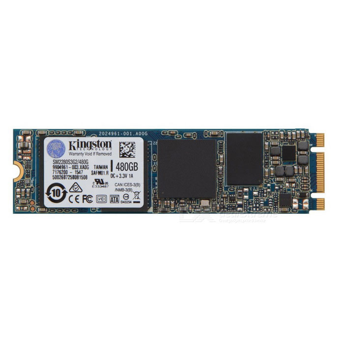 Kingston SSDNow SM2280 G2 Series 480GB SM2280S3G2/480GHDD &amp; SSD<br>Form  ColorBlueModelSM2280S3G2/480GQuantity1 setInterfaceM.2 (NGFF)Capacity / ROM500GB,480GBForm FactorOthers,M.2 2280Max Sequential Read550MB/sMax Sequential Write520MB/sBrandSamsungTypeSSDApplicationLaptop PC,Desktop PCPacking List1 x SSDNow SM2280 G2 Series 480GB<br>