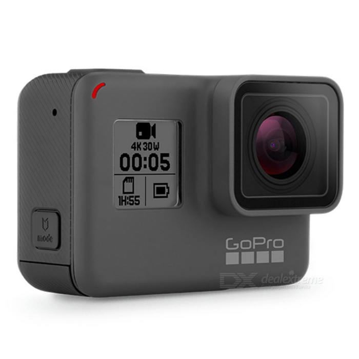 Gopro Hero 5 12MP 4K Sport Camera - BlackSport Cameras<br>Form  ColorBlackModelHero 5Shade Of ColorBlackMaterialPlastic + metalQuantity1 setImage SensorOthers,Not SpecifyAnti-ShakeYesFocal DistanceNot Specify cmFocusing RangeNot SpecifyEffective Pixels12MPImagesJPEG,JPGStill Image Resolution1920 * 1080VideoMP4Video Resolution4KVideo Frame Rate25,30,60,120Audio SystemStereoCycle RecordYesISONoExposure CompensationNoSupports Card TypeSDSupports Max. Capacity2 TBOutput InterfaceOthers,USBLCD ScreenYesScreen TypeTFTBattery Measured Capacity 1220 mAhNominal Capacity1220 mAhBattery TypeLi-ion batteryBattery included or notYesWater ResistantOthers,10mForm  ColorBlackPacking List1 * GoPro Hero 5 camera<br>