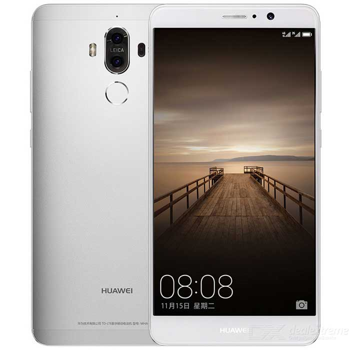 Huawei Mate 9 AL00 Phone 4GB RAM 32GB ROM Dual SIM - SilverAndroid Phones<br>Form  ColorSilverRAM4GBROM32GBBrandHUAWEIModelAL00Quantity1 pieceMaterialAluminum alloyShade Of ColorSilverTypeBrand NewPower AdapterUK PlugNetwork Type2G,3G,4GBand DetailsGSM 850 / 900 / 1800 / 1900MHz, CDMA800 (BC0), UMTS850 (B5),  UMTS900 (B8),  UMTS1900 (B2), UMTS2100 (B1),  LTE2100 (B1), TD-SCDMA2000, TD-SCDMA1900, LTE1800 (B3),  LTE2600 (B7), TD-LTE2500 (B41), TD-LTE2600 (B38),TD-LTE2300 (B40), TD-LTE1900 (B39)Data TransferGPRS,HSDPA,EDGE,LTE,HSUPAWLAN Wi-Fi 802.11 a,b,g,n,acSIM Card TypeNano SIMSIM Card Quantity2Network StandbyDual Network StandbyGPSYesNFCYesBluetooth VersionBluetooth V4.2Operating SystemOthers,EMUI 5.0  (Android 7.0)CPU ProcessorHiSilicon Honor KIRIN960 Hi3660, 2016, 64 bit, octa-core, 16 nm, 2400MHzCPU Core QuantityOcta-CoreGPUARM Mail-G71 900 MHzLanguage-Available Memory-Size Range5.5 inches &amp; OverTouch Screen TypeYesScreen Resolution1920*1080Multitouch10Screen Size ( inches)Others,5.9 inchScreen Edge2.5D Curved EdgeCamera PixelOthers,19.7MP + 12MPFront Camera Pixels8.0 MPVideo Recording Resolution3840 x 2160FlashYesAuto FocusYesOther Camera FunctionsMacro mode,  Face detection, Smile detection, Touch focus, OIS, Panorama Photo, HDR photo, Refocu, Red-eye reduction, Slow motion video, Face tagging, Face retouch, OIS (video)Talk Time30 hoursStandby Time504 hoursBattery Capacity4000 mAhBattery ModeNon-removablefeaturesWi-Fi,GPS,Bluetooth,NFCSensorOthers,Light intensity sensor, Proximity sensor, Barometer, Hall sensor, Gesture sensor, Fingerprint sensorWaterproof LevelIPX0 (Not Protected)I/O Interface3.5mm,SIM Slot,Others,USB Type-CFormat SupportedImage decoding: PNG, GIF, JPEG, BMP, WEBP, WBMP; Video format: 3gp, mp4, wmv, rm, rmvb, asf; Audio format: mp3, mp4, 3gp, wma, ogg, amr, aac, flac, wav, midi,ra.Image formate: png, gif, jpg, bmp, webp, wbmp.Reference Websites== Will this mobile phone work with a certain mobile carrier of yours? ==Packing List1 * Phone1 