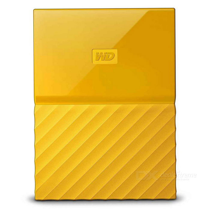 WD My Passport 4TB 2.5 External Drive USB3.0 WDBYFT0040BYL- YellowHDD &amp; SSD<br>Form Color4TB YellowModelWDBYFT0040BYLQuantity1 DX.PCM.Model.AttributeModel.UnitMaterialmetal+ plasticInterfaceUSB 3.0Capacity / ROMOthers,4TBForm Factor2.5Max Sequential Read125.5MB/sMax Sequential Write113.7MB/sPacking List1* WDBYFT0040BYL1* USB 3.0 cable1* User manual<br>