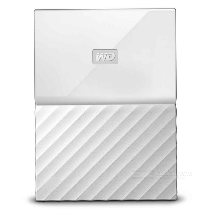 WD My Passport 4TB 2.5 External Drive USB3.0 WDBYFT0040BWT - WhiteHDD &amp; SSD<br>Form  Color4TB WhiteModelWDBYFT0040BWTQuantity1 setMaterialMetal + plasticInterfaceUSB 3.0,USB 2.0Capacity / ROMOthers,4TBForm Factor2.5Max Sequential Read125.5MB/sMax Sequential Write113.7MB/sBrandWDTypeHDDApplicationPortable DevicePacking List1* WDBYFT0040BWT1* USB 3.0 cable1* User manual<br>