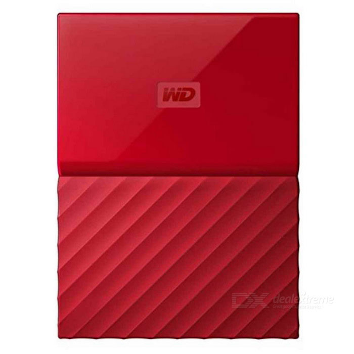 WD My Passport 2TB 2.5 External Drive USB3.0 WDBYFT0020BRD - RedHDD &amp; SSD<br>Form Color2TB RedModelWDBYFT0020BRDQuantity1 DX.PCM.Model.AttributeModel.UnitMaterialMetal + plasticInterfaceUSB 3.0Capacity / ROM2TBForm Factor2.5Max Sequential Read125.5MB/sMax Sequential Write113.7MB/sPacking List1* WDBYFT0020BRD1* USB 3.0 cable1* User manual<br>