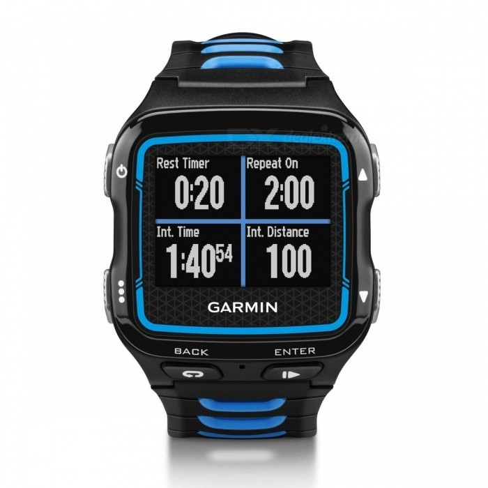 Garmin Forerunner 920XT with HRM Watch - Black / BlueSmart Watches<br>Form  ColorBlack + BlueModel920XTQuantity1 DX.PCM.Model.AttributeModel.UnitMaterialPlasticShade Of ColorBlackCPU ProcessorNot specifyScreen Size1.1 * 0.8 DX.PCM.Model.AttributeModel.UnitScreen Resolution205 * 148 pixelsTouch Screen TypeNoSIM Card TypeOthers,N/ABluetooth VersionOthers,Bluetooth 4.0 (Smart)Operating SystemOthers,Not SpecifyCompatible OSAndroid<br>iOS<br>OS X<br>Windows<br>Windows PhoneLanguageNot specifyWristband Length21 DX.PCM.Model.AttributeModel.UnitWater-proofOthers,5 ATMBattery ModeReplacementStandby Timenot specify DX.PCM.Model.AttributeModel.UnitPacking List1 * 920XT1 * USB cable1 * User menu1 * Charger<br>