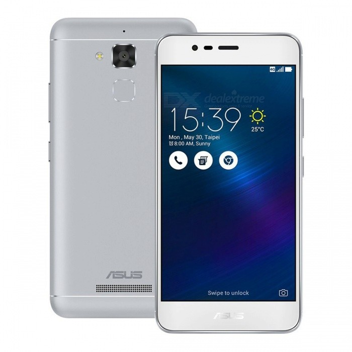 Asus ZenFone 3 Max ZC520TL Phone w/ 3GB RAM 32GB ROM Dual SIM - SilverAndroid Phones<br>Form ColorSilverRAM3GBROM32GBBrandASUSModelZC520TLQuantity1 DX.PCM.Model.AttributeModel.UnitMaterialAluminum alloyShade Of ColorSilverTypeBrand NewPower AdapterUK PlugNetwork Type2G,3G,4GBand DetailsGSM 850MHz, GSM 900MHz, GSM 1800MHz, GSM1900MHz, UMTS 800MHz (Band VI), UMTS 850MHz (Band V), UMTS 900MHz (Band VIII), UMTS 1900MHz (Band II), UMTS 2100MHz (Band I), LTE 2100 MHz (Band 1), LTE 1700/2100 MHz (Band 4, AWS), LTE 850 MHz (Band 5), LTE 1800 MHz (Band 3), LTE 2600 MHz (Band 7),  LTE 1900 MHz (Band 2),  LTE800 (B18), LTE 900 MHz (Band 8), LTE 800 MHz (Band 26), LTE 800 MHz (Band 19), TD-LTE 2500 MHz (Band 41), TD-LTE 2600 MHz (Band 38), LTE 700 MHz (Band 28)Data TransferGPRS,HSDPA,EDGE,LTE,HSUPAWLAN Wi-Fi 802.11 b,g,n,Others,Wi-Fi directSIM Card TypeMicro SIMSIM Card Quantity2Network StandbyDual Network StandbyGPSYesBluetooth VersionBluetooth V4.0Operating SystemOthers,Android 6.0.1CPU ProcessorMediaTek MT6737, 2016, 64 bit, 1300MHzCPU Core QuantityQuad-CoreGPUARM Mali-T720MP2Language-Available Memory-Memory CardMicro SDSize Range5.0~5.4 inchesTouch Screen TypeIPSScreen Resolution1280*720MultitouchOthers,YesScreen Size ( inches)Others,5.2Camera Pixel5.0MPFront Camera Pixels13 DX.PCM.Model.AttributeModel.UnitVideo Recording Resolution1920 * 1080 pixelFlashYesAuto FocusContrast Detection AutofocusTouch FocusYesOther Camera FunctionsMacro mode, HDR photo, Geo-tagging, face detection, panoramaTalk Time20 DX.PCM.Model.AttributeModel.UnitStandby Time720 DX.PCM.Model.AttributeModel.UnitBattery Capacity4130 DX.PCM.Model.AttributeModel.UnitBattery ModeNon-removablefeaturesWi-Fi,GPS,FM,BluetoothSensorProximity,Compass,Accelerometer,Fingerprint authentication sensor,Others,Light intensityWaterproof LevelIPX1I/O Interface3.5mm,SIM Slot,Micro USB v2.0Format SupportedMP3, WAV, eAAC+, MP4, H.264JAVANoRadio TunerFMReference Websites== Will this mobile phone work with a certain mobile carrier of yours? ==Packing List1 * Phone1 * Charger1 * Cable1 * English user manual<br>
