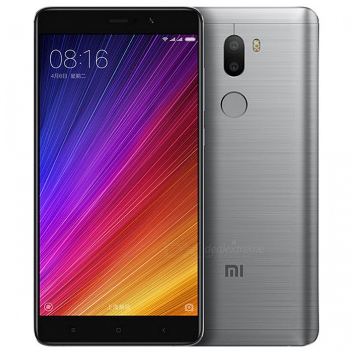 Xiaomi Mi 5s Plus 5.7 IPS Dual SIM Phone w/ 4GB RAM + 64GB ROM - GrayAndroid Phones<br>Form ColorGreyRAM4GBROM64GBBrandXiaomiModelMi 5S PlusQuantity1 DX.PCM.Model.AttributeModel.UnitMaterialPlastic + metalShade Of ColorGrayTypeBrand NewPower AdapterUK PlugHousing Case MaterialMetalNetwork Type2G,3G,4GBand DetailsGSM850, GSM900, GSM1800, GSM1900, CDMA800 (BC0), UMTS850 (B5), UMTS900 (B8), UMTS1900 (B2), UMTS2100 (B1), LTE2100 (B1), TD-SCDMA2000, LTE850 (B5), TD-SCDMA1900, LTE1800 (B3), LTE2600 (B7), TD-LTE2600 (B38), TD-LTE2500 (B41), TD-LTE2300 (B40), TD-LTE1900 (B39)Data TransferGPRS,HSDPA,EDGE,LTE,HSUPAWLAN Wi-Fi 802.11 a,b,g,n,ac,Others,dual-band, Wi-Fi Direct, DLNA, hotspotSIM Card TypeNano SIMSIM Card Quantity2Network StandbyDual Network StandbyGPSYesNFCYesInfrared PortYesBluetooth VersionBluetooth V4.2Operating SystemOthers,Google Android 6.0.1 (Marshmallow)CPU ProcessorQualcomm Snapdragon 821 MSM8996AC Pro, 2016, 64 bit, Quad-Core 2.35 GHz, 32 Kbyte I-Cache, 32 Kbyte D-Cache, 1536 Kbyte L2, 14 nmCPU Core QuantityQuad-CoreGPUQualcomm Adreno 530LanguageEnglish, Afrikaans, Bahasa Indonesia, Bahasa Melayu, Catala, Cestina,Dansk, Deutsch,<br> Espanol, Filipino, French, Hrvatski, IsiZulu, Italiano, Kiswahili,Latviesu, Lietuviu, <br>Magyar, Nederlands, Norsk bokmal, Portuguese, Romana,Rumantsch, Slovencina, Slovenscina, <br>Suomi, Svenska, Vietnamese, Turkish,Greek, Bulgarian, Russian, Serbian, Ukrainian, Hebrew, Urdu, <br>Arabic, Persian, Thai, Khmer, Korean, Japanese, Simplified/Traditional ChineseAvailable Memory121GBMemory Card-Max. Expansion Supported-Size Range5.5 inches &amp; OverTouch Screen TypeCapacitive ScreenScreen Resolution1920*1080Multitouch5Screen Size ( inches)5.7Camera PixelOthers,Dual 13 MPFront Camera Pixels4 DX.PCM.Model.AttributeModel.UnitVideo Recording Resolution2160p@30fps, 1080p@30fpsFlashYesAuto FocusYesTouch FocusYesOther Camera FunctionsPrimary camera<br>Dual 13 MP, f/2.0, phase detection autofocus, dual-LED (dual tone) flash;<br>1/3 sensor size, 1.12 µm pixel size, geo-tagging, touch focus, face detection, panorama, HDR;<br>Secondary<br>4 MP, f/2.0, 1/3 sensor size, 2µm pixel size, 1080pTalk Time10 DX.PCM.Model.AttributeModel.UnitStandby Time140 DX.PCM.Model.AttributeModel.UnitBattery Capacity3800 DX.PCM.Model.AttributeModel.UnitBattery ModeNon-removableQuick ChargeQuick Charge 3.0featuresWi-Fi,GPS,FM,Bluetooth,NFCSensorG-sensor,Proximity,Compass,Accelerometer,Barometer,Fingerprint authentication sensor,Others,Light sensor,  Hall sensorWaterproof LevelIPX0 (Not Protected)I/O Interface3.5mm,SIM Slot,Others,Type-C 1.0 reversible connectorJAVANoRadio TunerFMOther Features- Fast battery charging: 83% in 30 min (Quick Charge 3.0)<br>- MP4/DivX/XviD/WMV/H.265 player<br>- MP3/WAV/eAAC+/FLAC player<br>- Photo/video editor<br>- Document viewerReference Websites== Will this mobile phone work with a certain mobile carrier of yours? ==Packing List1 * Smartphone1 * Power charger1 * Type-C charging cable1 * SIM tool1 * User manual<br>