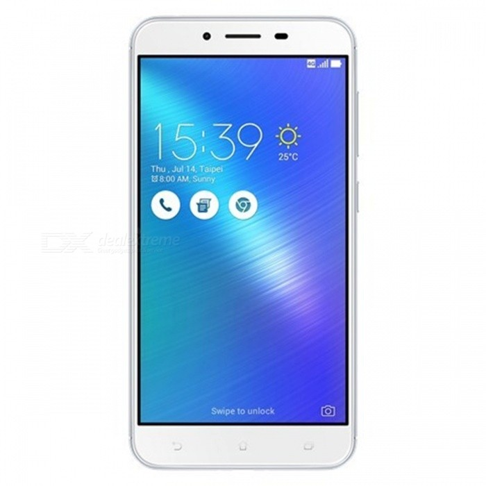 Asus ZenFone 3 Max ZC553KL Dual SIM Phone w/ 3GB RAM 32GB ROM - SilverAndroid Phones<br>Form ColorSilverRAM3GBROM32GBBrandASUSModelZC553KLQuantity1 DX.PCM.Model.AttributeModel.UnitMaterial-Shade Of ColorSilverTypeBrand NewPower AdapterUK PlugNetwork Type2G,3G,4GBand DetailsGSM850, GSM900, GSM1800, GSM1900, UMTS800 (B6), UMTS850 (B5), UMTS900 (B8), UMTS1900 (B2), UMTS2100 (B1), UMTS800 (B19), LTE2100 (B1), LTE850 (B5), LTE1800 (B3), LTE2600 (B7), LTE1900 (B2), LTE800 (B18), LTE900 (B8), LTE800 (B26), LTE800 (B19), TD-LTE2500 (B41), TD-LTE2600 (B38), LTE700 (B28)Data TransferGPRS,HSDPA,EDGE,LTE,HSUPAWLAN Wi-Fi 802.11 b,g,nSIM Card TypeMicro SIMSIM Card Quantity2Network StandbyDual Network StandbyGPSYesBluetooth VersionBluetooth V4.0Operating SystemOthers,Google Android 6.0.1 (Marshmallow)CPU ProcessorQualcomm Snapdragon 430 MSM8937, 2016, 64 bit, octa-core, 28 nmCPU Core QuantityOcta-CoreGPUQualcomm Adreno 505LanguageNot SpecifyAvailable Memory32GBMemory CardmicroSDMax. Expansion Supported256GBSize Range5.5 inches &amp; OverTouch Screen TypeOthers,Color IPS TFT LCDScreen Resolution1920*1080Multitouch10Screen Size ( inches)5.5Camera PixelOthers,16.0MPFront Camera Pixels8.0 DX.PCM.Model.AttributeModel.UnitVideo Recording Resolution1080p@30fpsFlashYesAuto FocusCD AF, Laser AF, PD AFTouch FocusYesOther Camera FunctionsMacro mode, EIS, HDR photo, 1/3 sensor size, geo-tagging, face detection, panorama,Talk Time7 DX.PCM.Model.AttributeModel.UnitStandby Time912 DX.PCM.Model.AttributeModel.UnitBattery Capacity4100 DX.PCM.Model.AttributeModel.UnitBattery ModeNon-removableQuick ChargeYesfeaturesWi-Fi,GPS,FM,BluetoothSensorProximity,Compass,Accelerometer,Fingerprint authentication sensor,Others,Light sensor, Hall sensor, GyroscopeWaterproof LevelIPX0 (Not Protected)I/O InterfaceMicro USB v2.0JAVANoRadio TunerFMOther Features- Fast battery charging<br>- MP3/WAV/eAAC+ player<br>- MP4/H.264 player<br>- Document viewer<br>- Photo/video editor<br>- Power Bank functionReference Websites== Will this mobile phone work with a certain mobile carrier of yours? ==Packing List1 * Cell Phone1 * Power Adpater1 * USB Charging Cable1 * User Manual<br>
